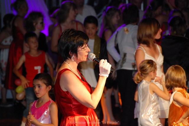 "Gala 2011 Pascale ""Présidente"""