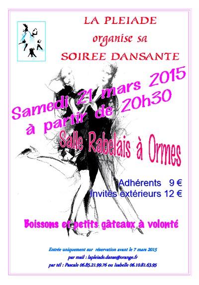 Soirée dansante 2015
