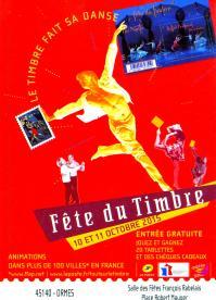 Journee du timbre avec l association de danse la pleiade